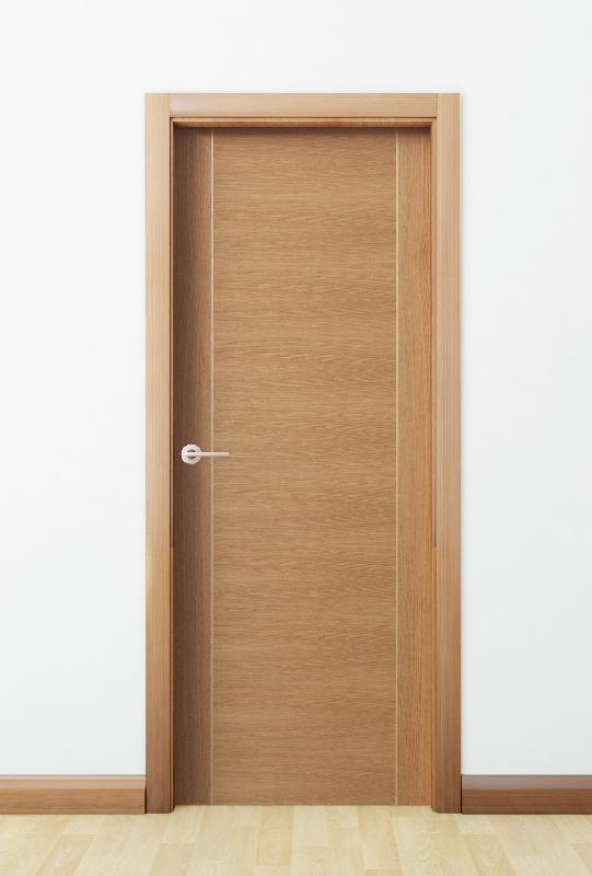 Puerta madera baeza curva interior solid wood door for Puerta de madera exterior usada