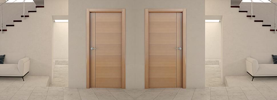 Puertas juan lopez fabricaci n puertas de madera lisas for Fabricacion puertas madera