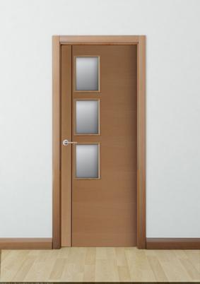 Cat logo de puertas de interior con cristaleras f brica for Catalogo de puertas de interior