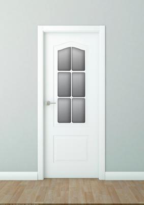 Cat logo de puertas de interior con cristaleras f brica for Fabrica de puertas de interior