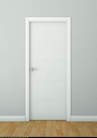 Cat logo de puertas de interior lacadas blancas f brica for Fabrica de puertas de interior